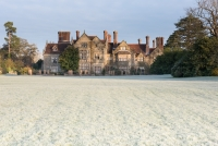 Winter at Borde Hill House, Haywards Heath, West Sussex